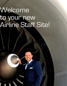 Welcome to your new Airline Staff Site!